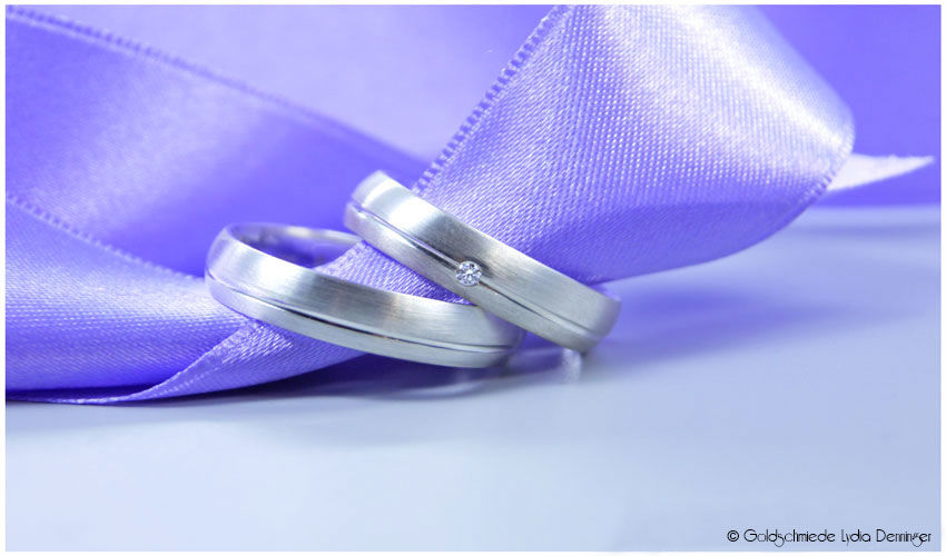 925 Silber mit Brillant und Saturnfuge