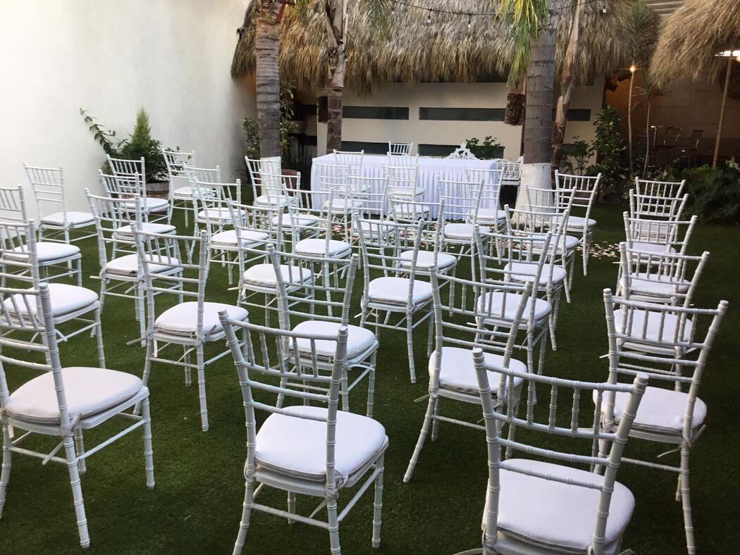 Real Jardín Bambú - Terraza