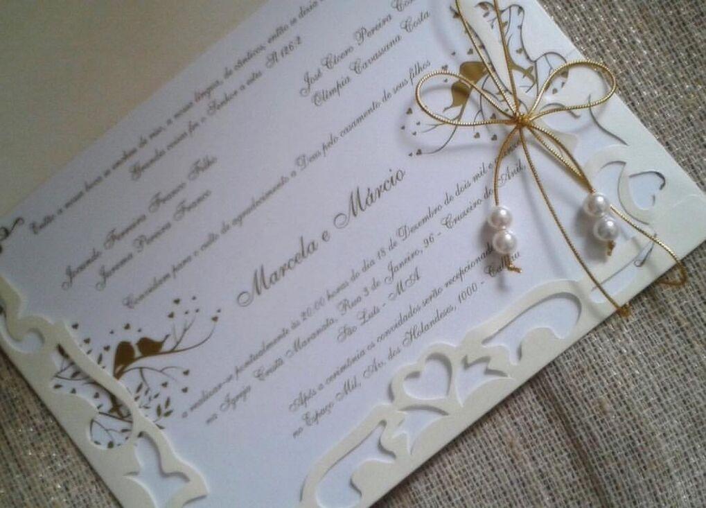 Convite modelo Florença