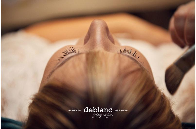 Maquillaje Novia - Deblanc Fotografia