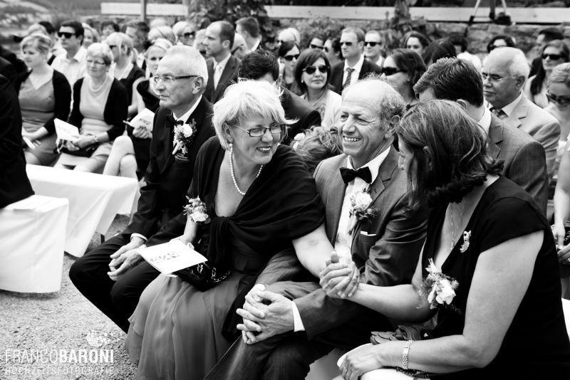 Beispiel: Fotos von der Trauzeremonie, Foto: Franco Baroni.