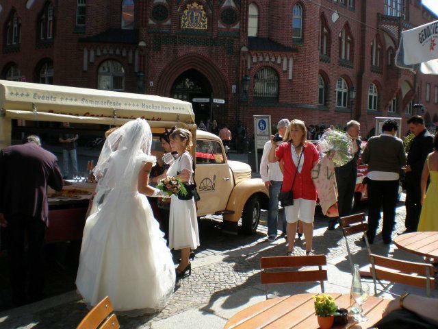 Beispiel: Hochzeitsfeier in der Alten Pumpe, Foto: Alte Pumpe.