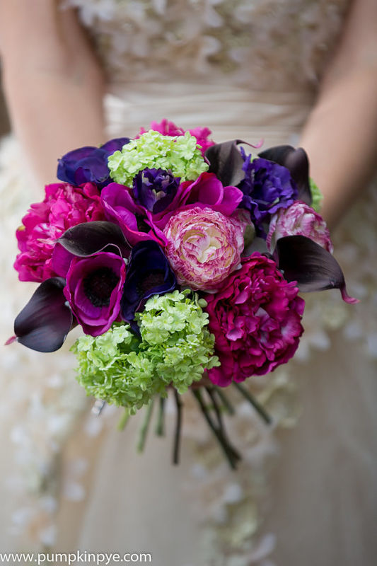 colour pop faux flower bouquet