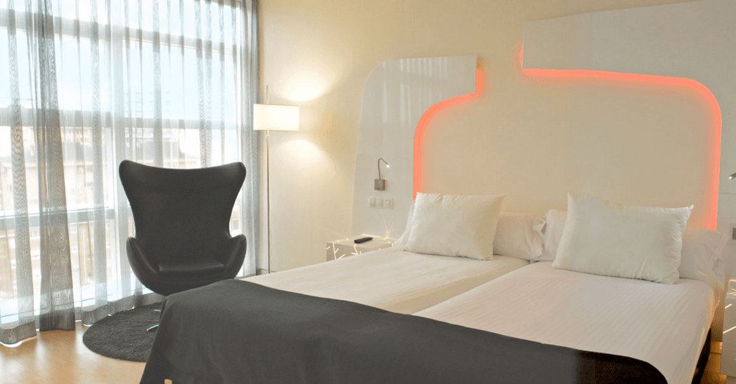 Hotel Ayre Oviedo.