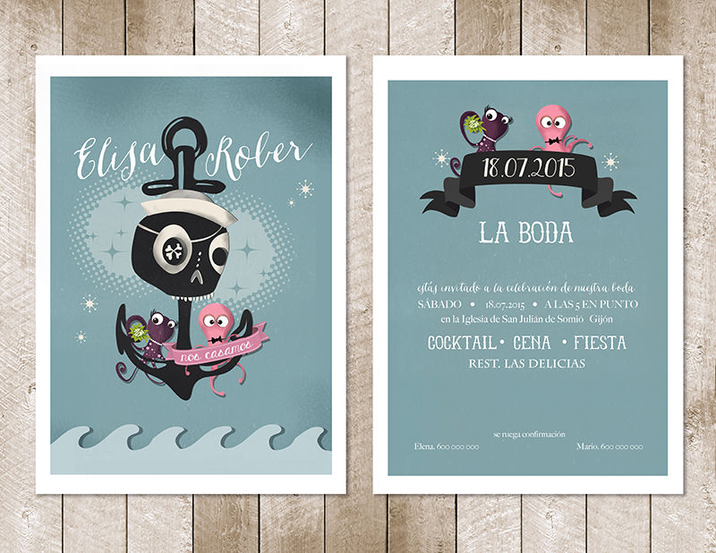 Invitación Mod. Sea Lovers