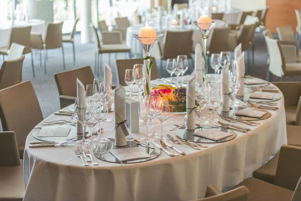 Beispiel: Tischdekoration, Foto: Hotel Heinz.