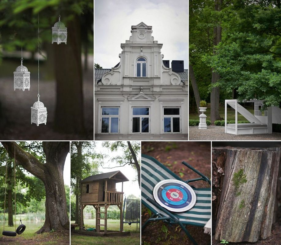 Starodrzew w 7-o hektarowym Parku otaczającym Pałac