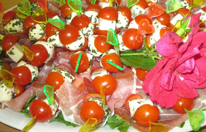Beispiel: Fingerfood, Foto: 1. Italienischer Partyservice.