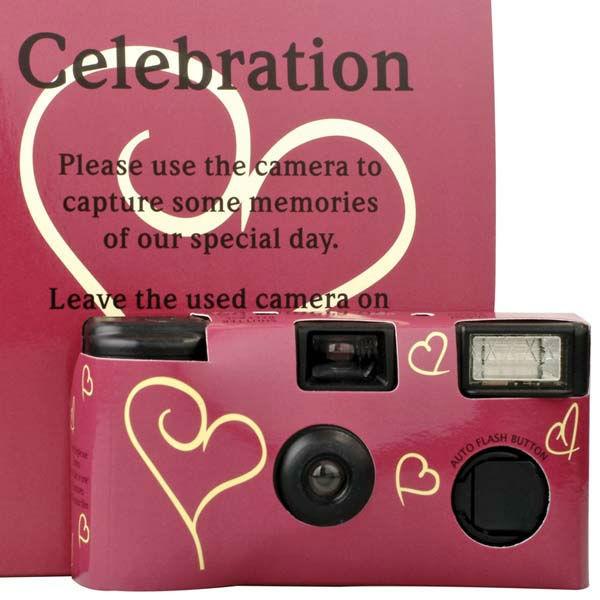 Beispiel: Hochzeitskamera, Foto: Sweet Wedding Hochzeitsdekoration.