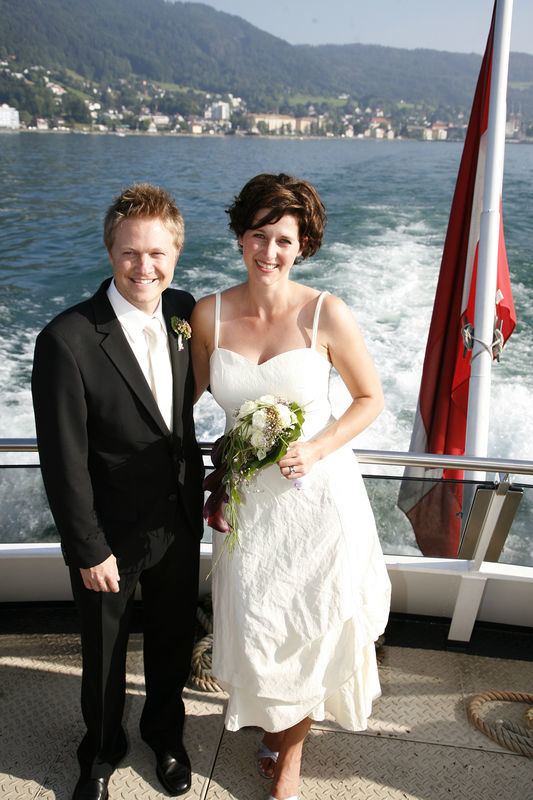 Beispiel: Glückliches Paar, Foto: Bodenseeschifffahrt.
