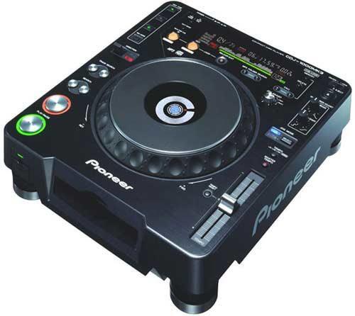 Beispiel: CD-Turntabel, Foto: ALLSTARS Eventservice.