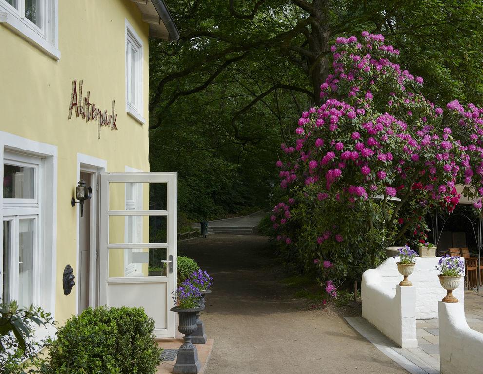 Beispiel: Eingang, Foto: Restaurant Alsterpark.