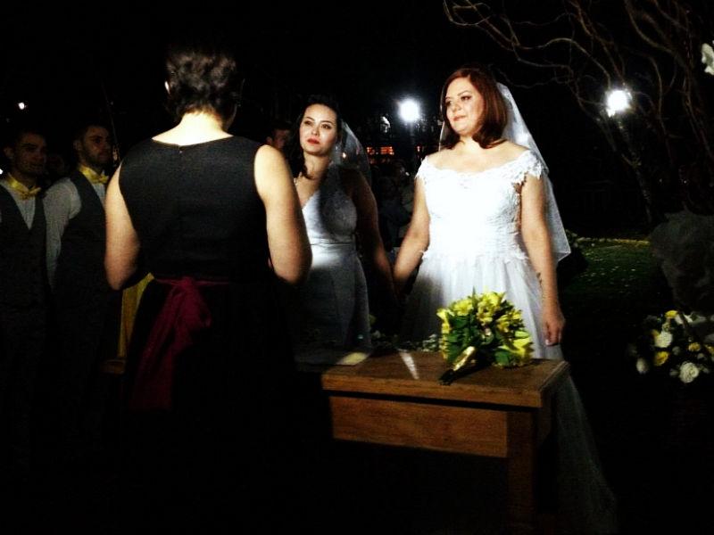 Casamento de Diala & Michelle, no Sítio Florentino.