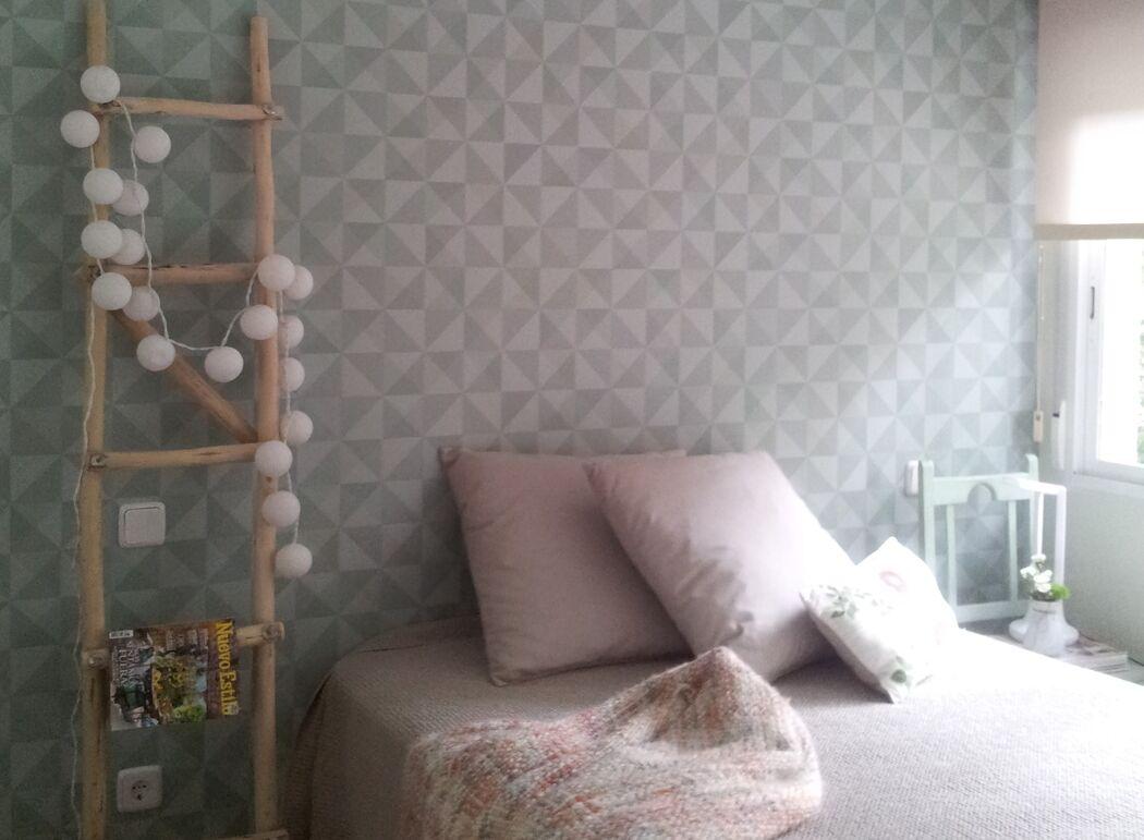 Proyecto Deco de dormitorio de mini apartamento.