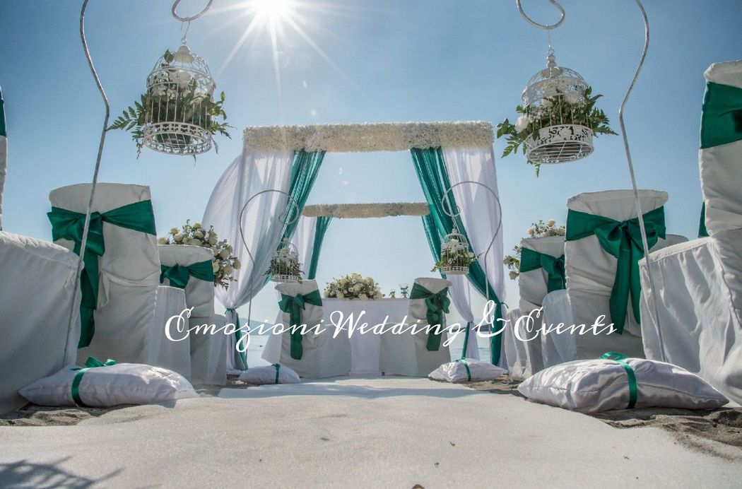 Wedding beach costa smeralda