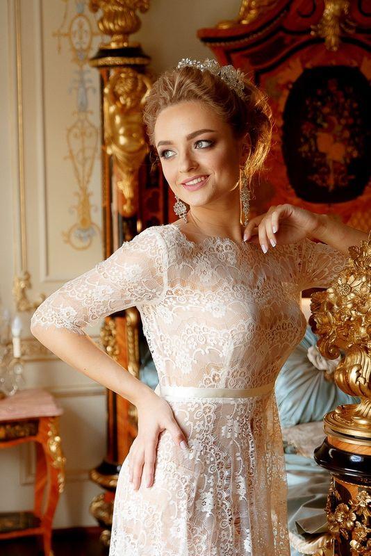 Будуарное платье  Анабель