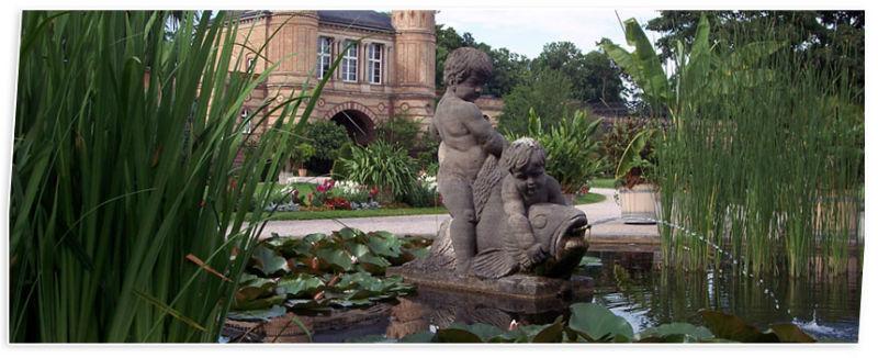 Beispiel: Impressionen vom Garten, Foto: Badische Weinstuben.