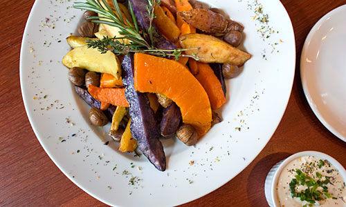 Beispiel: Serviervorschlag, Foto: Das Kartoffelhaus.