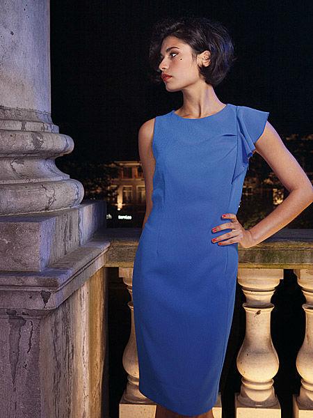 Beispiel: Abendmode, Foto: Liluca Bern Festkleider.