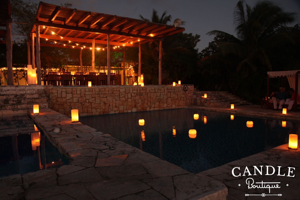 Candle Boutique - Rustic pool