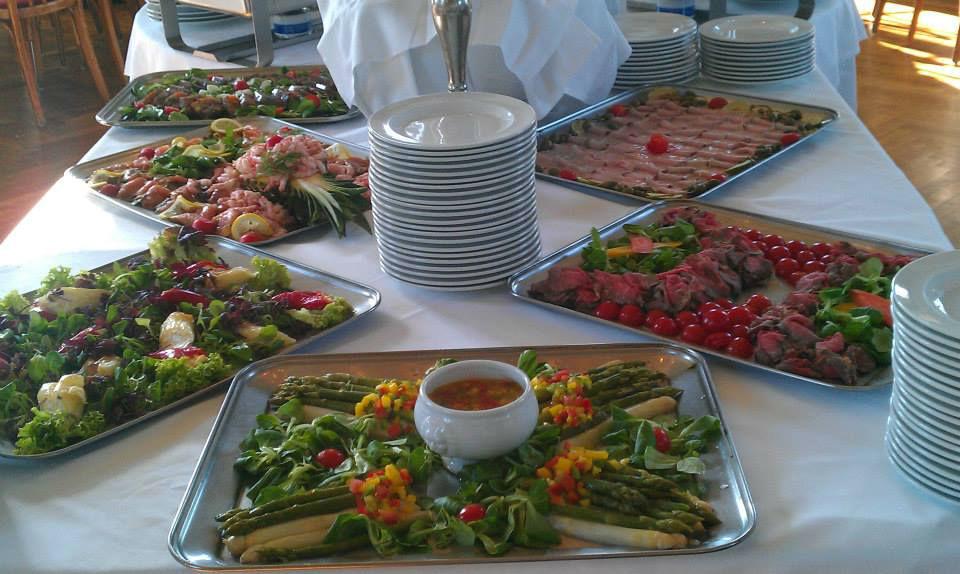 Beispiel: Buffet, Foto: Café-Restaurant Lusthaus.