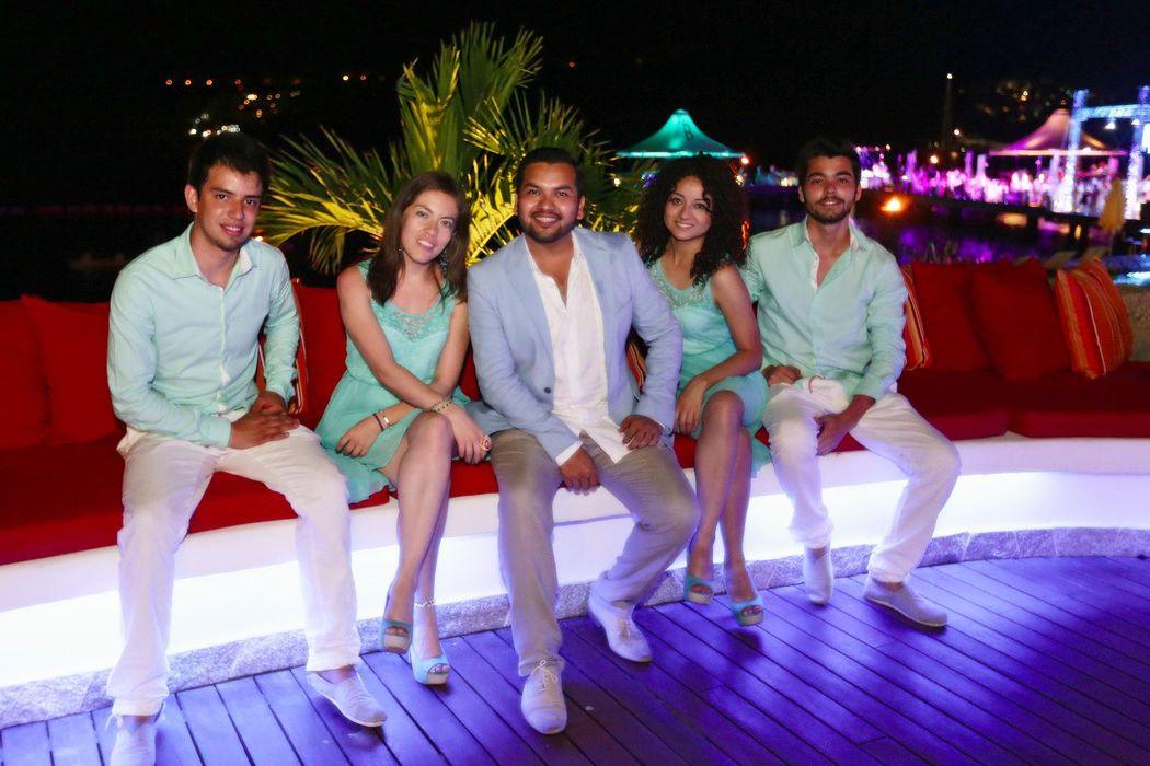Wedding Destination Acapulco, Guerrero, México. Marzo 2013
