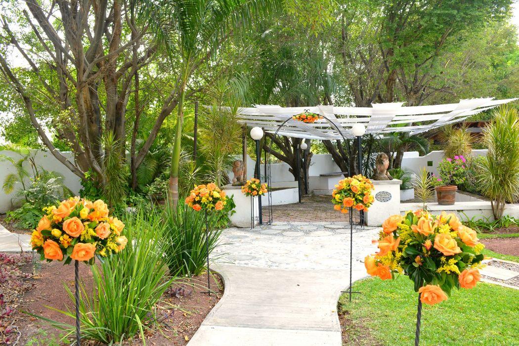 Quinta pavo real del rinc n bodas for Jardin quinta real cd obregon