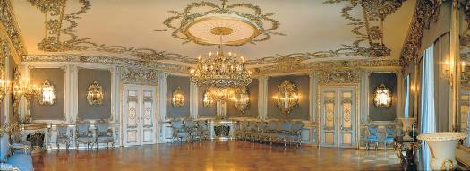 Beispiel: Silbersalon, Foto: Thurn und Taxis Schloss St. Emmeram.