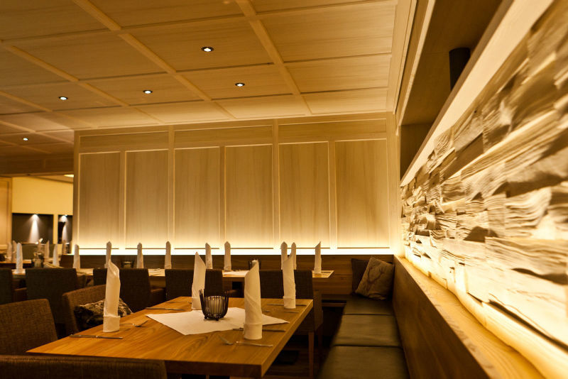 Beispiel: Impression Restaurant, Foto: Dorfhaus Thalkirchhof.