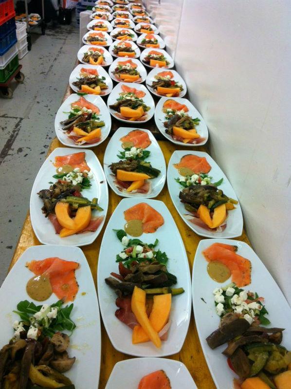 Beispiel: Hochzeitsmenü, Foto: Bar and more Eventcatering.