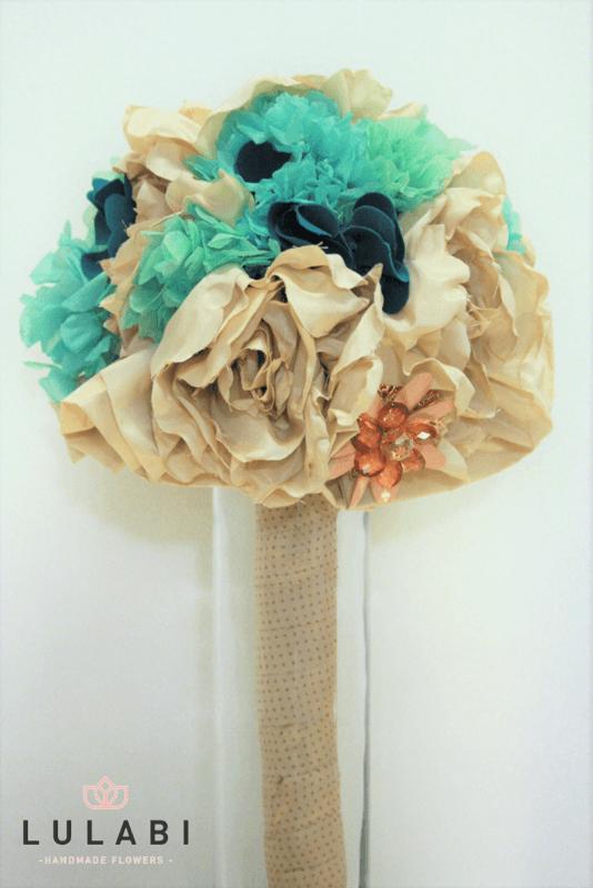 LULABI Handmade Flowers /Ramo de Novia