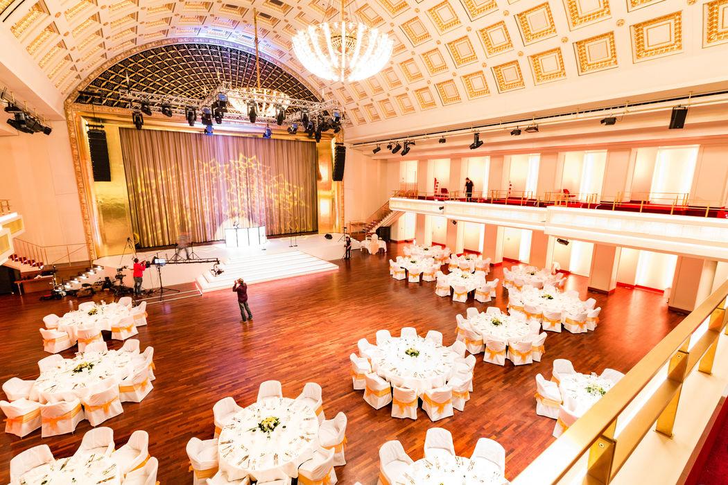 Bénazetsaal für 150 - 680 Personen