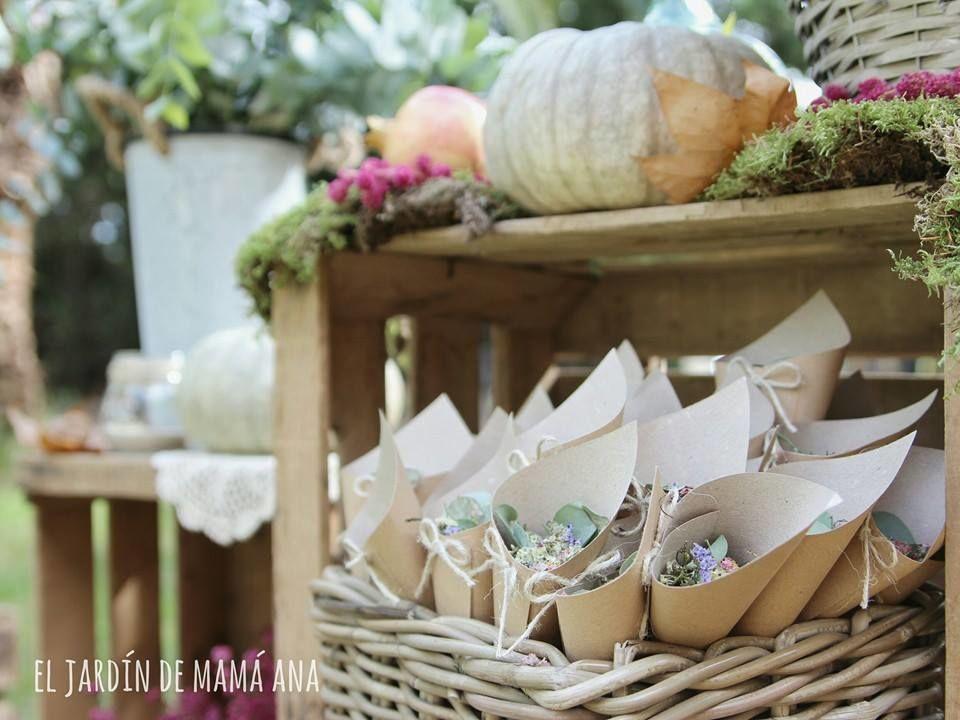 Diseño de bodas, detalles especiales por El Jardín de mamá Ana.