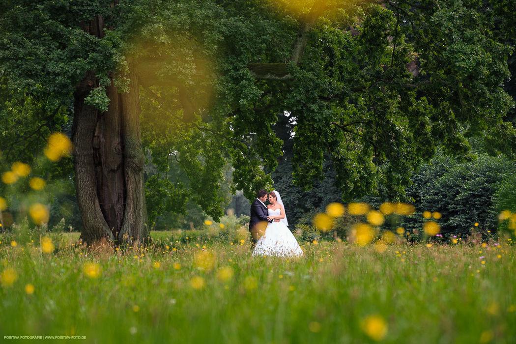 Hochzeit in Hamburg - Braupaarshooting im Park