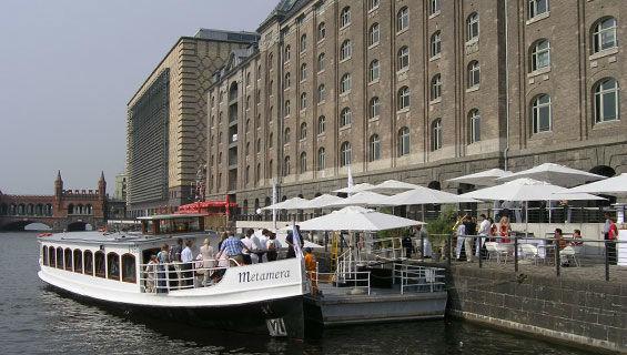 Beispiel: Schiffsanleger, Foto: Spreespeicher.