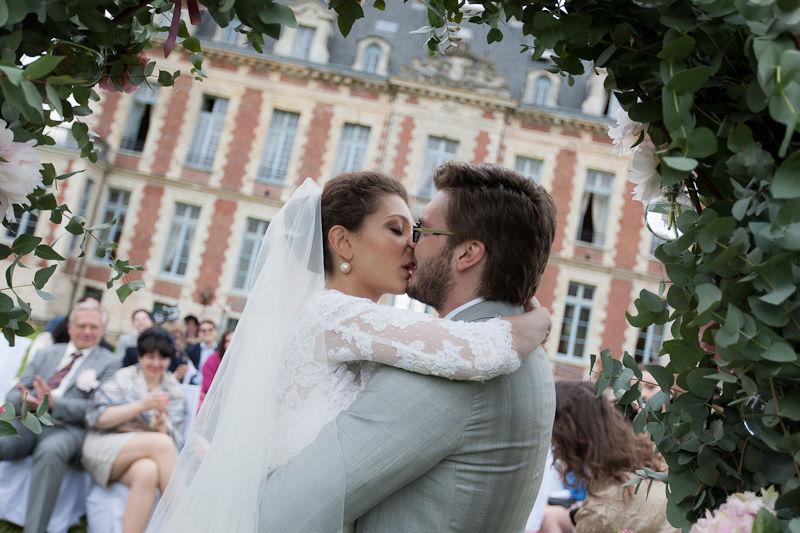 Mariage de Julia & Eugène, des Russes à Paris, Cérémonie symbolique au Château, Crédit Ian Holmes