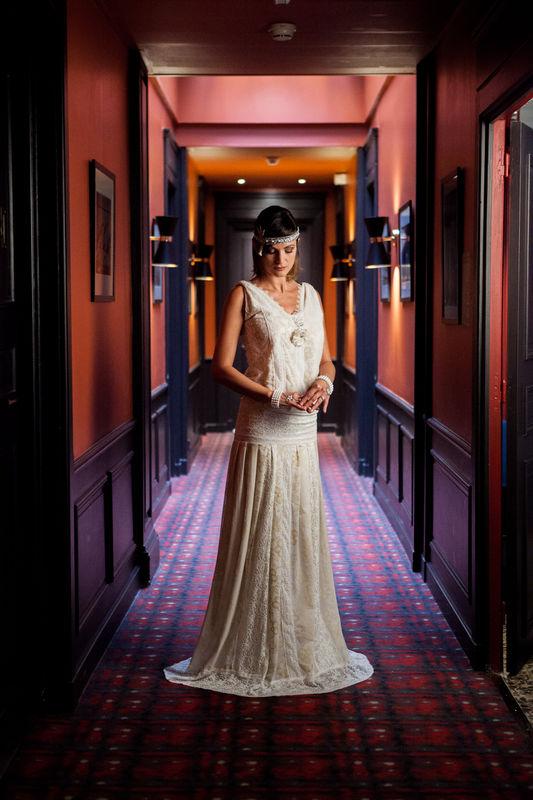 Mariage d'inspiration Gatsby Mam'zelle Event