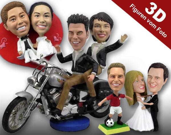 Beispiel: 3D-Figuren von Fotos, Foto: Galleryy.