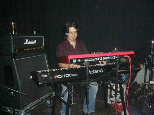 Beispiel: Bandbesetzung, Foto: Alexander Nagel - Pianist & Keyboarder.