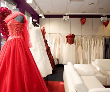 Beispiel: Brautgeschäft, Foto: astra amoris