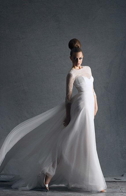 Beispiel: Edle Stoffe und feine Materialien, Foto: Hochzeitssalon Jereb.