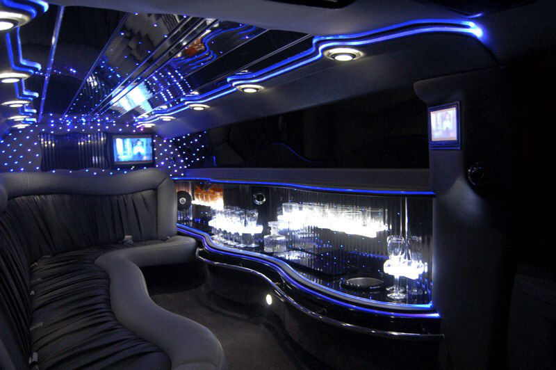 Beispiel: Chrysler 300C Interieur, Foto: MK- Limousinen München.