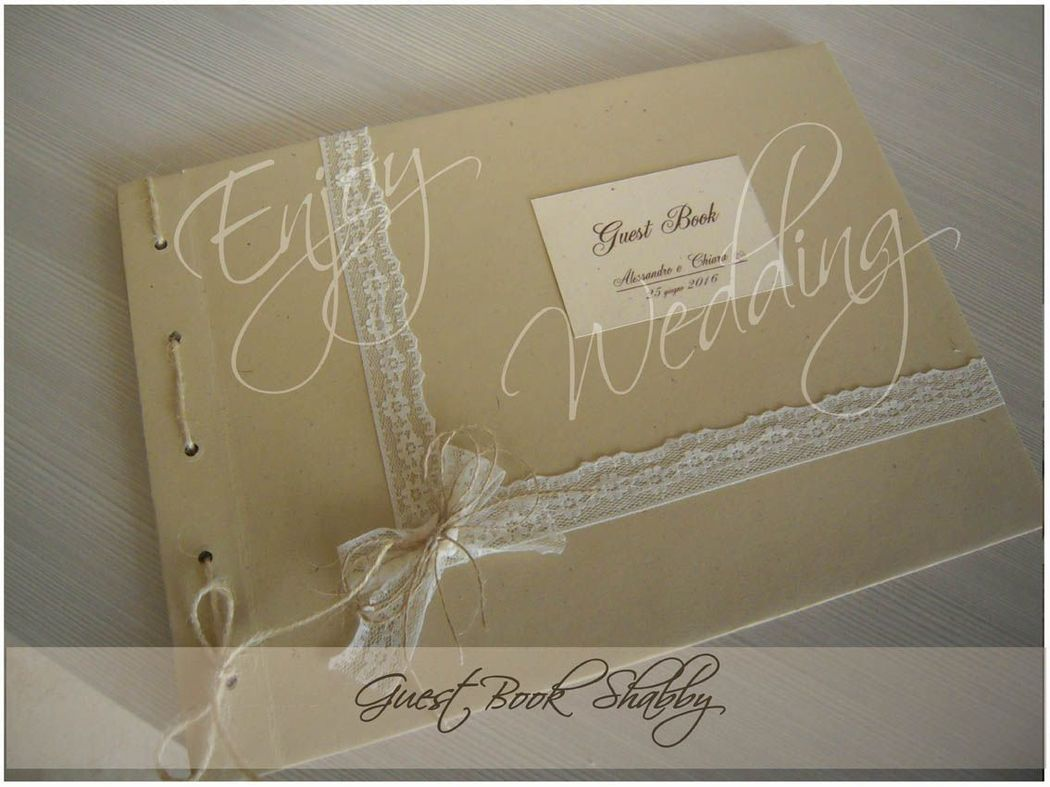 Guest Book SHABBY