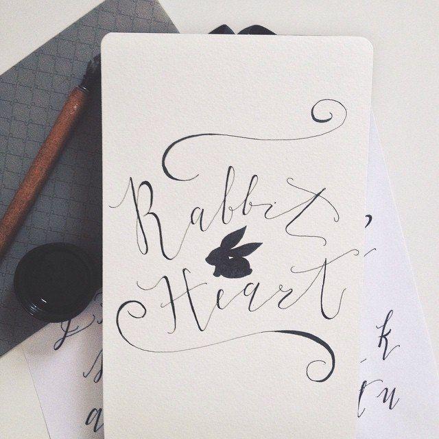 Victoria Kolbus - свадебная каллиграфия