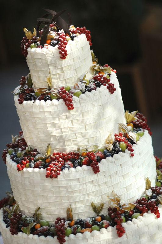 Una fantastica torta a piani!