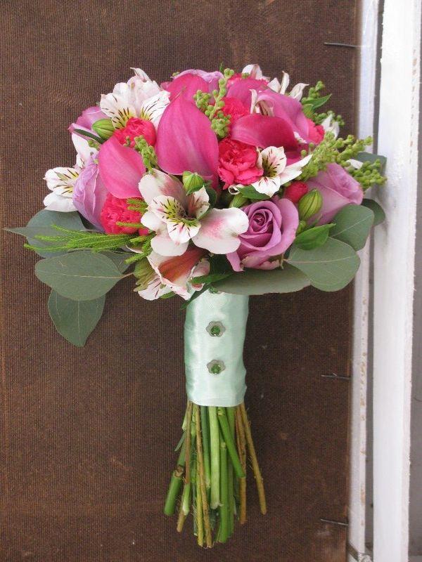 Bouquet de Noiva Campestre rosa