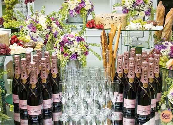 Barra de Champagne, elegancia y glamour para tu evento