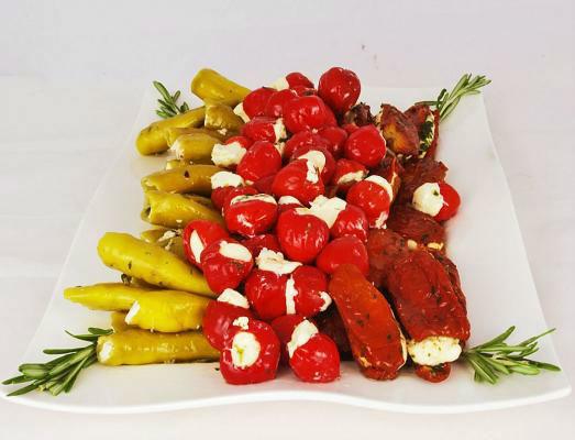Beispiel: Gefüllte Pepperoni, Foto: 4C Catering.