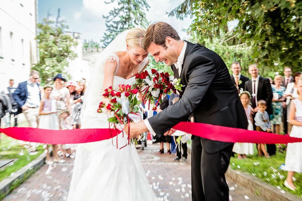 Beispiel: Hochzeitsreportage, Foto: Christian Pöltl.