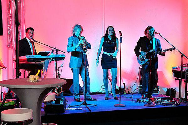 Beispiel: Excellente Livemusik, Foto: Da Capo Music.